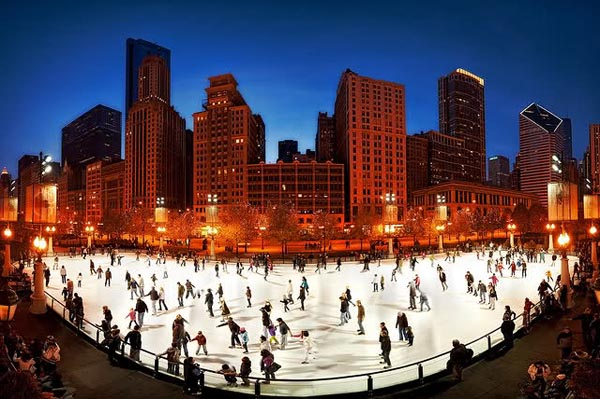 Chicago Bean Ice Skating Ice-skating-in-chicago