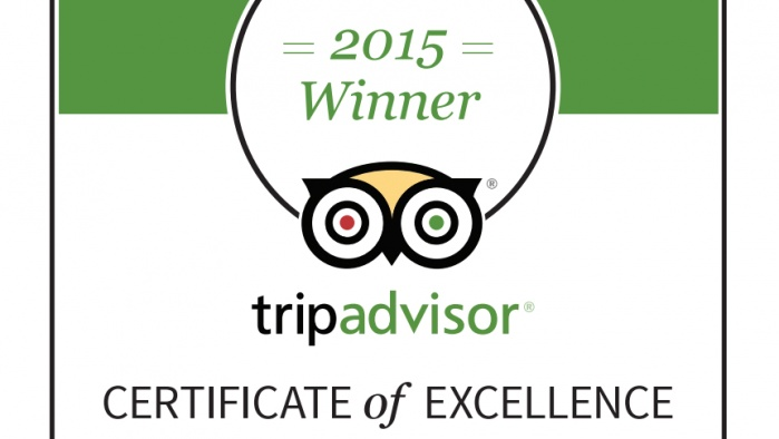 trip advisor certificate of excellence badge