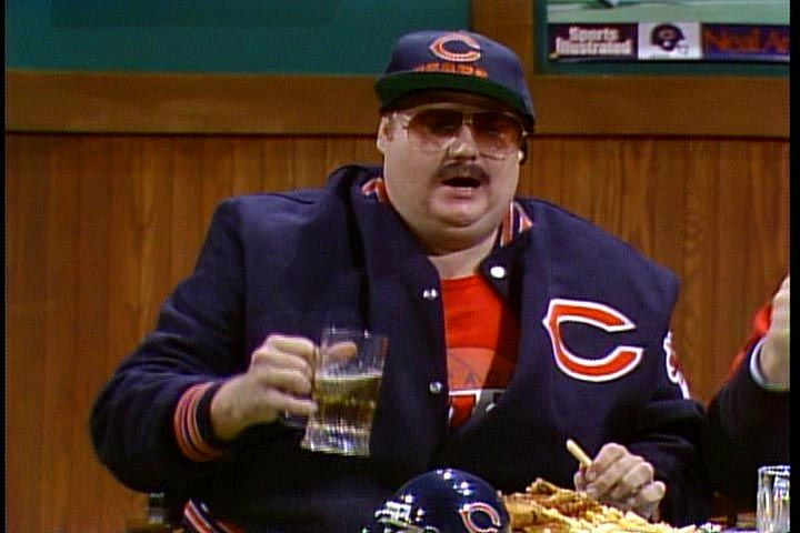 snl chicago bears costume