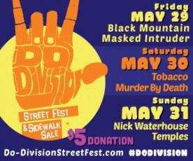Do Division street fest 2015 poster