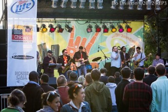 Musical stage at Do Division Street Fest