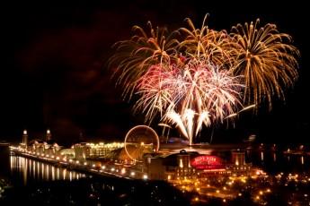 chicago fireworks navy pier