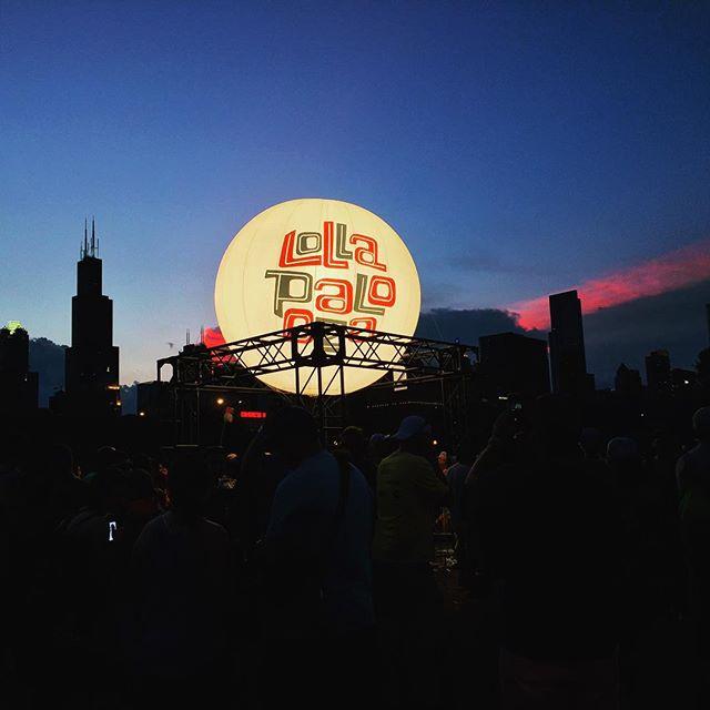 Lollapalooza Chicago skyline