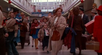 ohare airport home alone